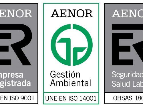 Sistema Integrat de Gestió. ISO 9001. ISO 14001. OHSAS 18001.