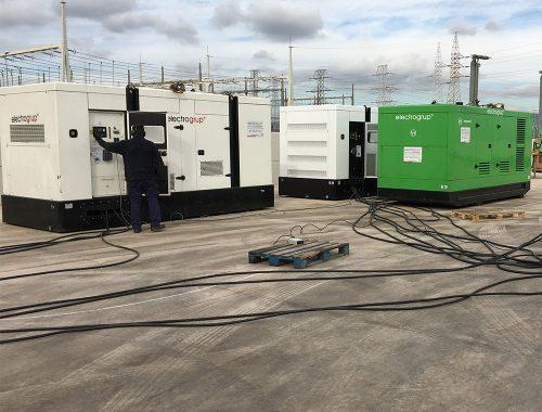 1800 kVA Sincronizados en Paralelo