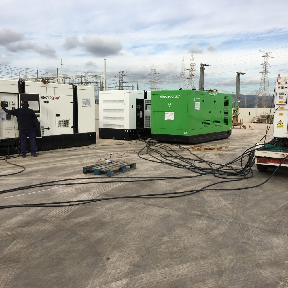 1800 kVA Sincronitzats en Paral·lel