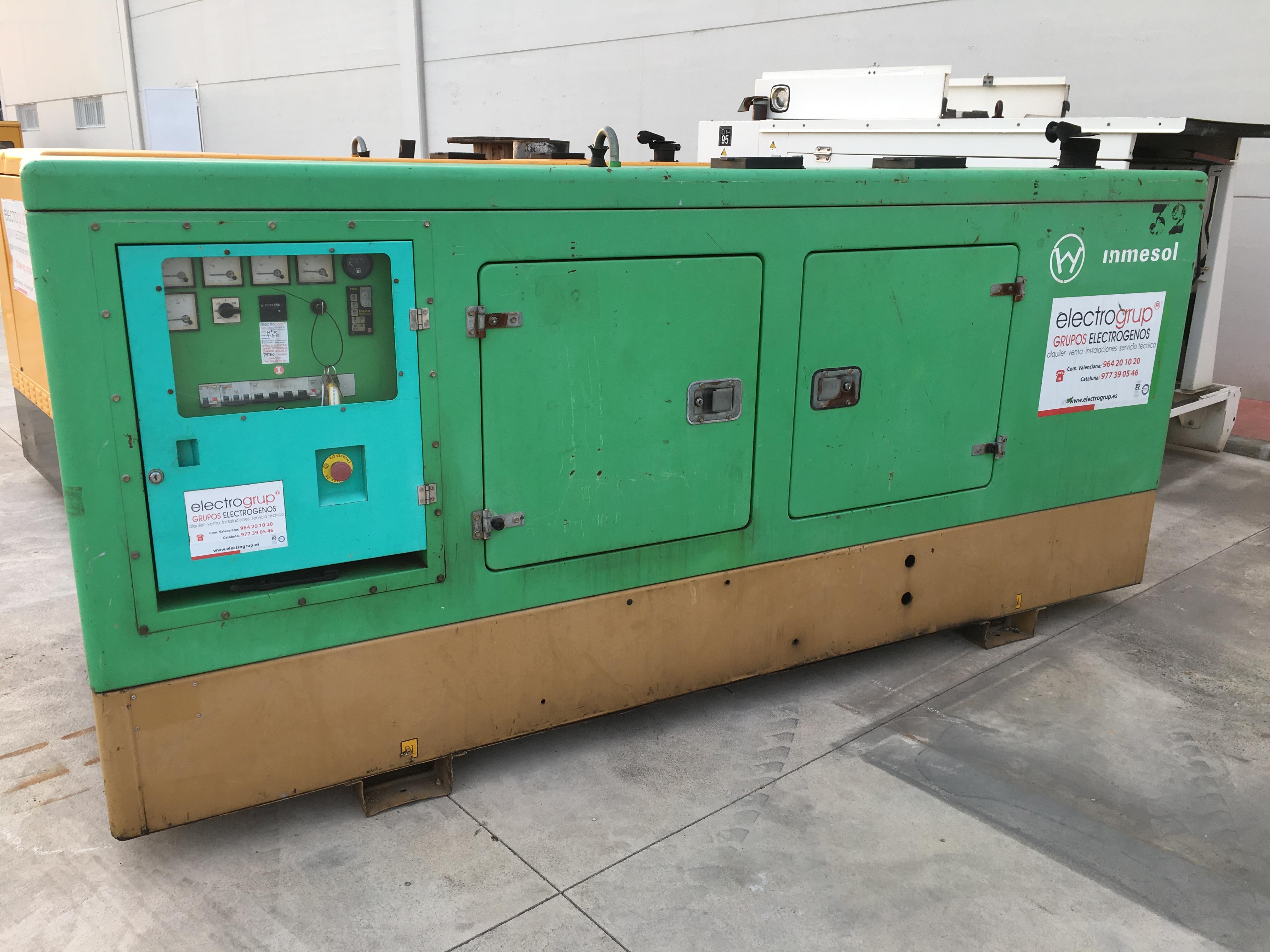 Grupo Electrógeno 60 kVA ocasión