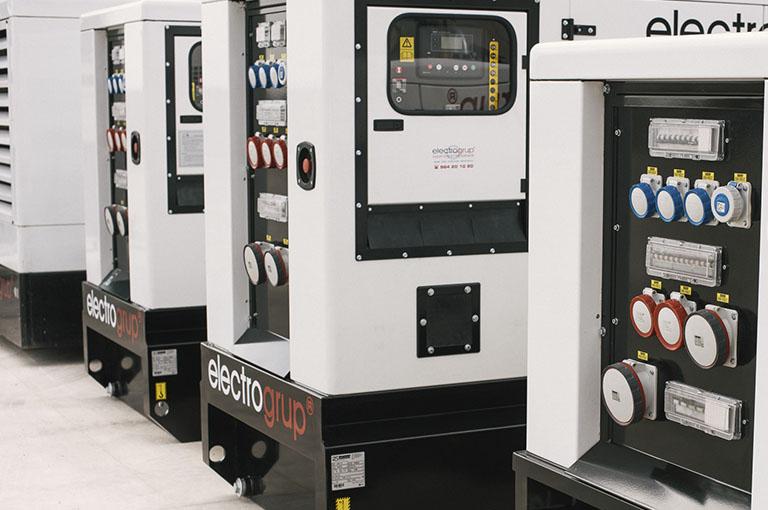Alquiler de generadores eléctricos Cataluña