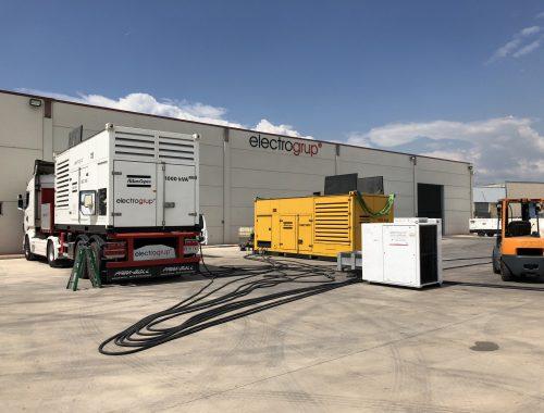 2000 kVA con Grupos Electrógenos Sincronizados en Paralelo.